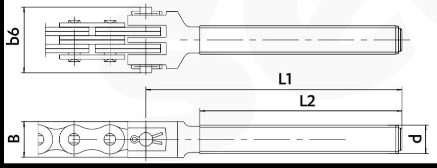Flyerkette Abmessungen Anschlusstuecke