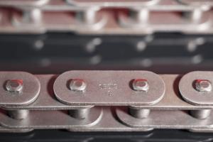 Rollenketten mit geraden Laschen korrosionsbeständig