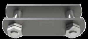 Verschlussglied mit Sicherungsmutter für Rollenkette N 209