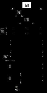 zweifach Rollenkette Skizze