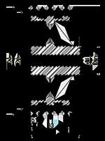 Gussrad Stahl 3x Bemassung