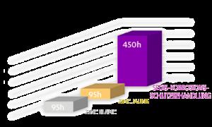 Salzsprühtest für korrosionsbeständige Rollenkette Delta Titanium