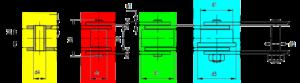 Förderketten Varianten