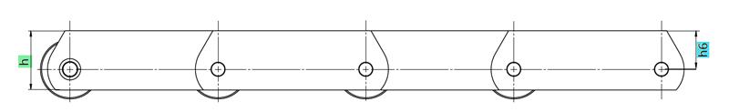 Traglaschenketten Zeichnung
